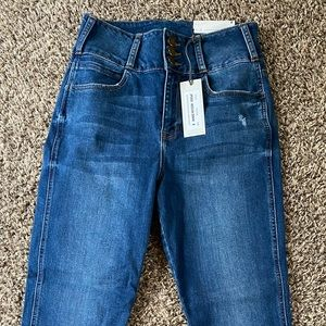 Just USA skinny jeans/size 8/NWT